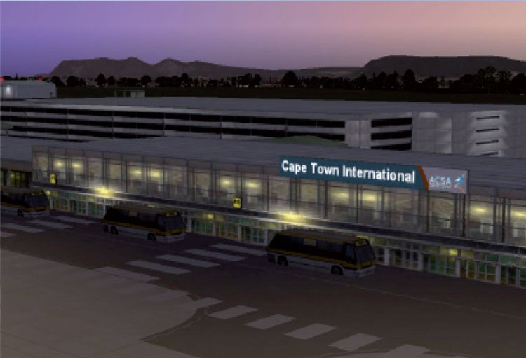 Cape Town International Airport, South Africa (CPT)